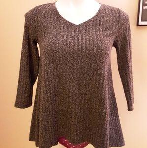 Grey Sonoma High-Lo Sweater PXS